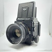 【NEAR MINT】MAMIYA RB67 Pro S + SEKOR C 127mm F3.8 + 120 Film Back From JAPAN 708