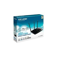 Modem Router TP-LINK TD-W8970, Gigabit, Wireless N, 300Mbps