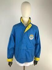 O'NEILL GRUNDIG POWER SOUND Vintage Windbreaker Jacke Sports Jacket Blau Blue M
