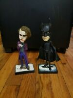 NECA DC Comics Joker Batman Dark Knight Bobble-head AND BATMAN NECA DC.