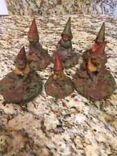 Tom Clark Gnomes Lot of 6 - family of turtles