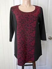 Crossroads 3/4 Sleeve Floral Tops & Blouses for Women