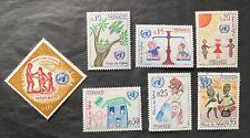 Monaco 1963 UN Children's Charter Mint & Used set