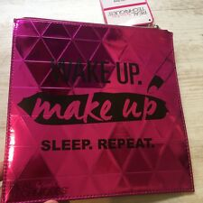 Nueva técnica real metálico Wake Up Maquillaje dormir repetir Cosmético Caso Bolsa Regalo