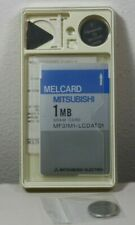 New listing Melcard Mitsubishi 1Mb Sram Card Mf31M1 - Lcdat01 Original Packaging