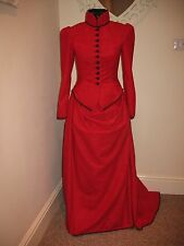 VICTORIAN/STEAMPUNK  STYLE LADIES  COSTUME  Approx size 8