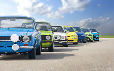 """Ford RS Club Canvas Print Large A1 30"""" x 20"""""""