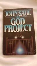 The God Project by John Saul (Hardcover, 1982) 1st Printing/1st Edition