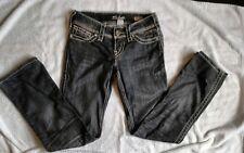 Silver Jean Company, McKenzie Slim Bootcut Black Jeans, Ladies Size 28/29