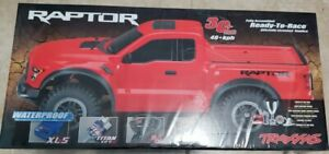 Traxxas 2017 Ford Raptor RTR 2wd Slash with Battery and Charger Factory Sealed