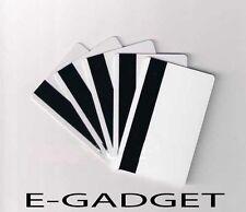10 Plastic PVC ID CARD BANDA MAGNETICA HI-CO NUOVE Stampabile stampante InkJet