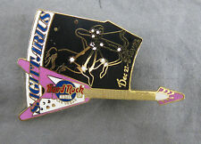 Hard Rock Cafe Pin Las Vegas Limited Edition Horoscope Zodiac Sagittarius Purple