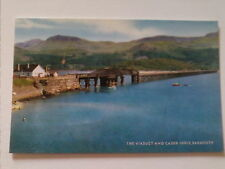 Postcard The Viaduct and Cader Idris, Barmouth, Wales UP  (A3)