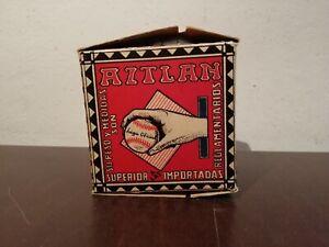 Vintage Mexican AZTLAN Mexican Baseball Ball in Original Box Official League