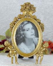 Bilderrahmen Antik Fotorahmen Barock Rahmen Prunkrahmen gold Engel Putten Deko
