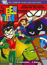 Teen Titans Complete Fourth Season 0085391171812 With Tara Strong DVD Region 1