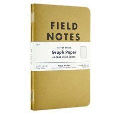 Field Notes Kraft Graph Paper 3-Pack