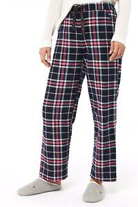 New Womens Check Trouser loungewear Pj Pyjama Bottoms Joggers