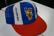VTG 80's 1984 Olympics Snapback Cap.Hat. USA. Very good condition.White Red Blue