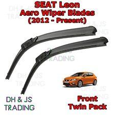 (12-19) Seat Leon Aero Wiper Blades / Front Flat Blade Wipers Sportcoupe MK3 5F