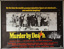 Cinema Poster: MURDER BY DEATH 1976 (Quad)Alec Guinness Peter Sellers