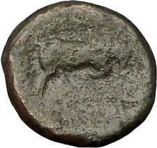 SELEUKOS I Nikator 312BC Seleukid Kingdom Medusa Bull Ancient Greek Coin i51986
