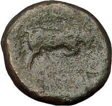 SELEUKOS I Nikator 312BC Seleukid Kingdom Medusa Bull Ancient Greek Coin i51986
