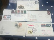 Netherlands 5 early FDC covers incl mystery flight to Istanbul 1959