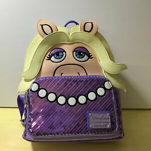 Disney Parks Loungefly mini Backpack Muppets Miss Piggy BNWT