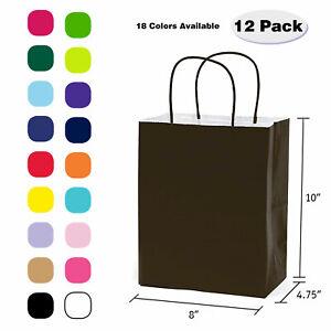 [VALUE PACK] MEDIUM PAPER KRAFT GIFT BAGS PREMIUM QUALITY / EASTER / BIRTHDAY