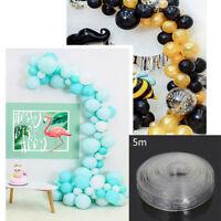 5M Ballons Chain Connector Tape Balloon Wedding Birthday Balloons Arch Holder