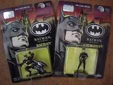 Two Die Cast Metal Figures from the movie Batman Returns 1992 Unopened