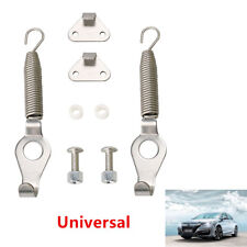 2PCS Universal Racing Spring Car SUV Trunk Hood Kit Hook Lock Hinge 5.2''/13.3cm