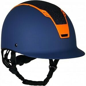 Horka Sparrow Helmet Navy and Orange