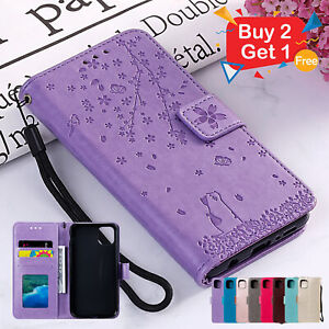 Leather Wallet Flip Cover Case For iPhone 12 11 Pro Max mini 8 7 Plus 6 X XS XR