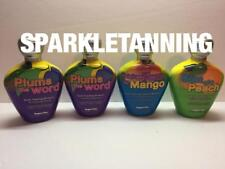 Supre Tan Plums Word Takes Mango Me Son Of Peach Indoor Tanning Bed Lotion Lot 4