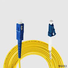 Good 10FT LC-SC Communication Single Mode Simplex Fiber Optic Cable Cord Jumper
