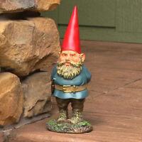 """Sunnydaze Gus the Original Gnome Statue - Outdoor Lawn and Garden Decor - 9.5"""""""