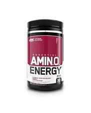 Optimum Nutrition Amino Energy BCAA Powder 30 Servs Amino Acids Free P&P Cherry