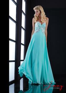 80% off Long Prom Dress DESIGNER DRESS Jasz Couture 5429 MINT size 4