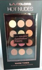 LA Colors 12 Color Eyeshadow Palette Neutral Warm Tones Pretty Shimmer Highlight