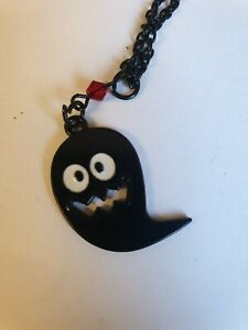 Creepy Critters Black Ghost Ghoul 👻 Necklace Halloween Cosplay
