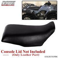 for Honda Fourtrax 300 SEAT COVER #9 1988-2000 Black Standard ATV Seat Cover
