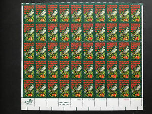 1971 sheet, Christmas Partridge in a Pear Tree issue Sc # 1445