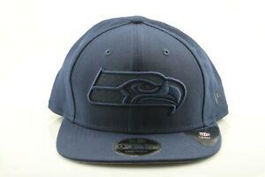 New Era 9Fifty Seattle Seahawks Cappy Cap NFL Snapback OSFA Dunkelblau