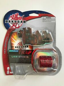 BAKUGAN - New Vestroia - Trap - Legionoid (Rot) - 1 Bakugan - NEU - OVP