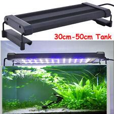 Aquarium Lumière LED Éclairage Spectre Complet Fish Tank Réglable Barre Lampe FR