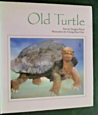 Old Turtle by Douglas Wood AWESOME Illustrations by Cheng-Khee Chee - HC/DJ