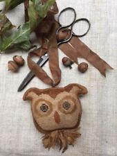 Quincy Owl Ornament Animal Cracker Stacy Nash Primitives Cross Stitch Pattern