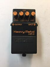 Boss Roland HM-2 Heavy Metal Distortion Vintage 1989 Guitar Effect Pedal